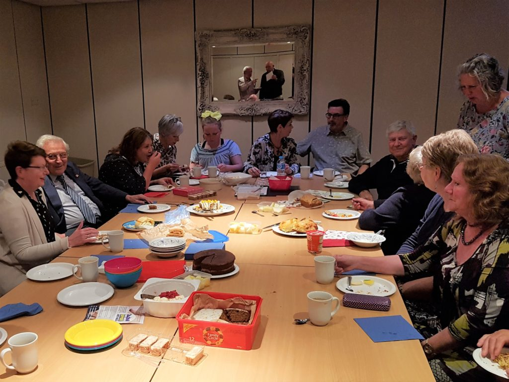 Pudding & cake at the September 2018 meeting
